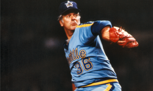 Seattle Mariners powder blues Gaylord Perry