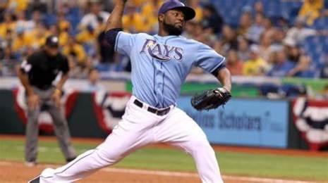 Tampa Bay Rays powder blues Fernando Rodney