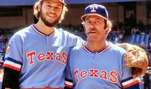 Texas Rangers powder blues