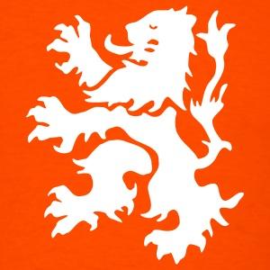 Dutch Lion orange and white