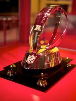 The modern Lamar Hunt Trophy