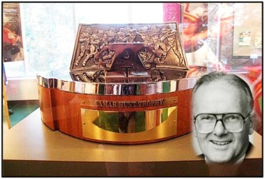 The original Lamar Hunt AFC Championship Trophy