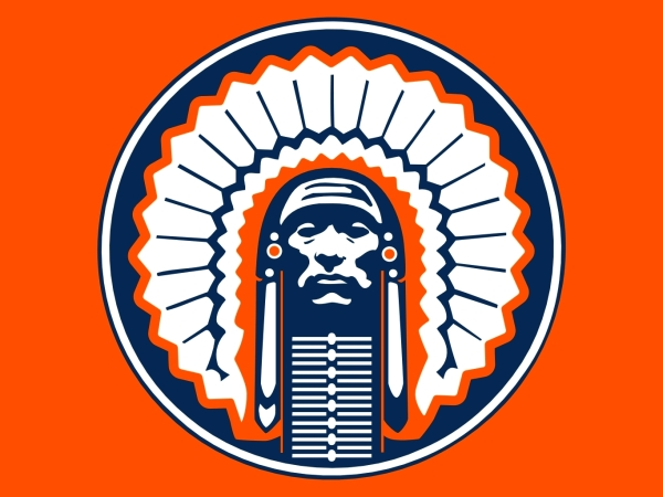 Illinois Fighting Illini Chief Logo